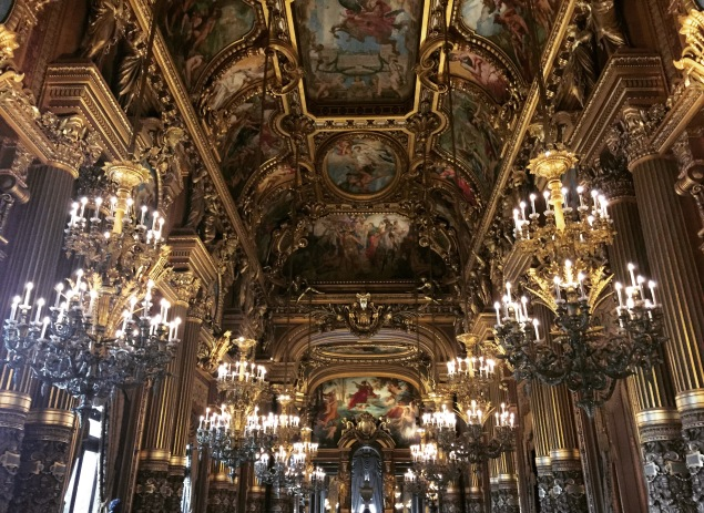 Paris Opéra Garnier Chandelier Room